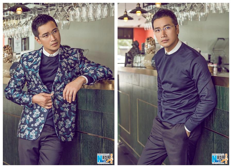 Китайский актер Хэ Шэнмин
