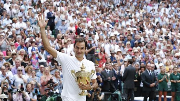 Роджер Федерер выиграл Уимблдон-2017