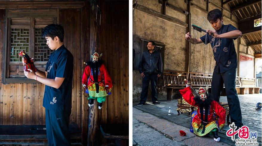 Искусство марионеток из очаровательного города Цюаньчжоу