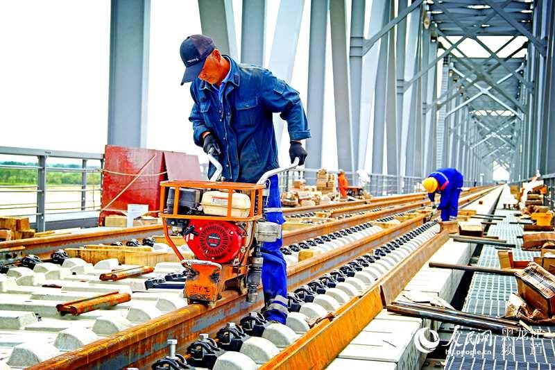 Мост Тунцзян – Нижнеленинское включен в Совместное заявление КНР и РФ, интенсивно ведутся строительные работы