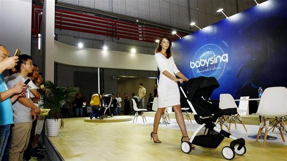 17-я Китайская выставка товаров для детей, младенцев и беременных женщин открылась в Шанхае