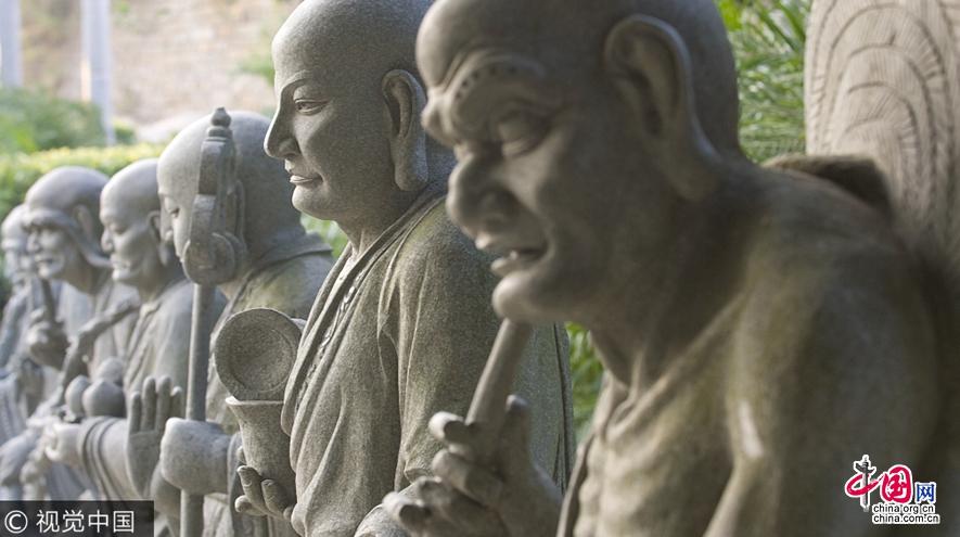 Резьба по камню уезда Хуэйань