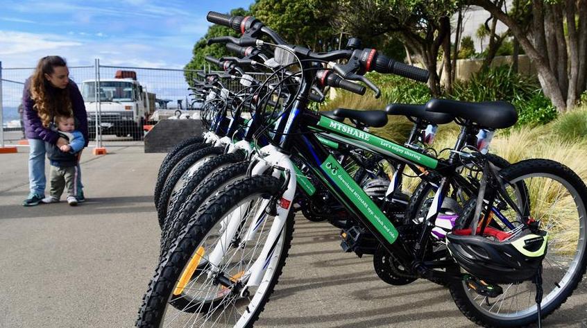 В Новой Зеландии появились общественные велосипеды
