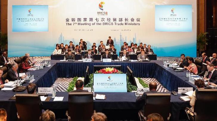 Седьмая встреча министров экономики и торговли стран БРИКС завершилась утверждением ряда документов