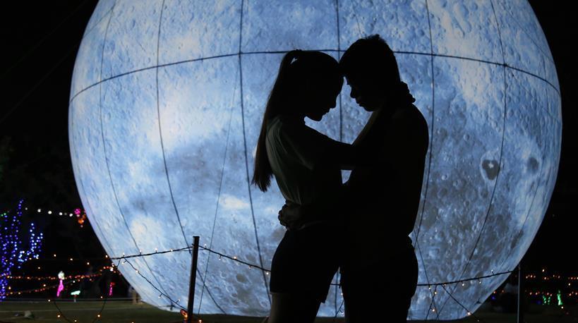 Свидание 'под луной' в провинции Хубэй