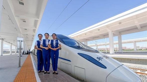 Внутренняя Монголия вступила в эпоху 'высокоскоростных железных дорог'