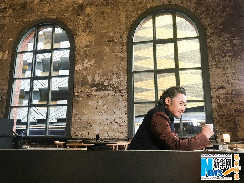 Китайский актер У Сюбо появился в Австралии