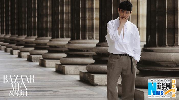 Сунь Цзянь в модных фото в Париже