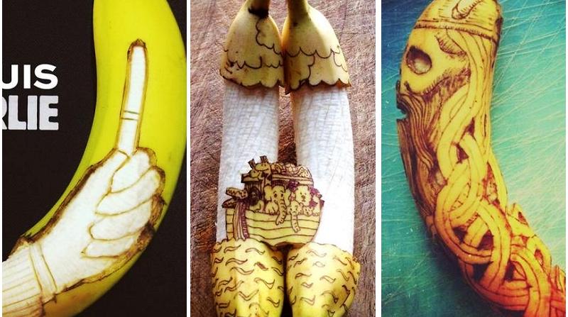 «Забавные» бананы