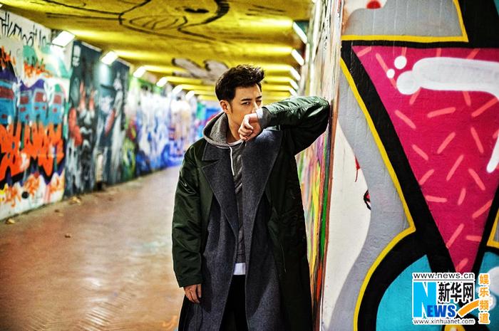 Тайваньский певец Пань Вэйбо в осенних фото