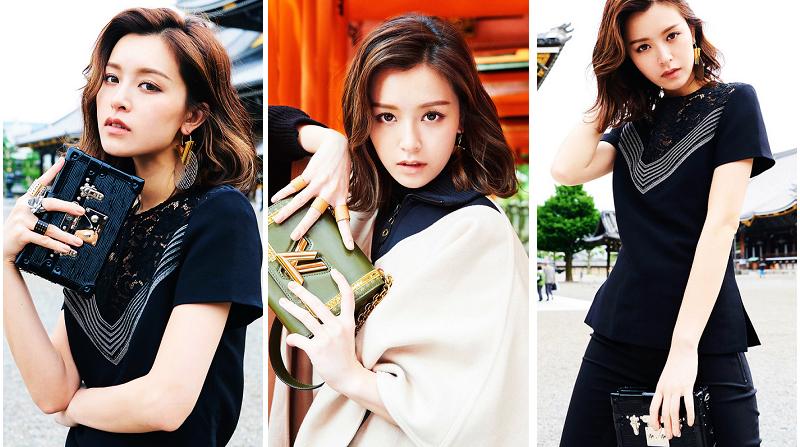 Сянганская звезда Вэнь Юншань на уличной съемке