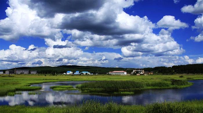 Прекрасный Сайханьба: начало рек, родина облаков, мир цветов и океан леса