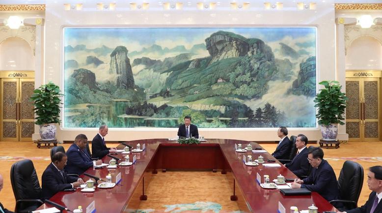 Си Цзиньпин встретился с участниками 7-й встречи представителей высокого ранга по делам безопасности стран БРИКС