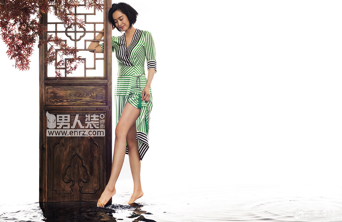 Сянганская звезда Чжу Инь на «FHM»