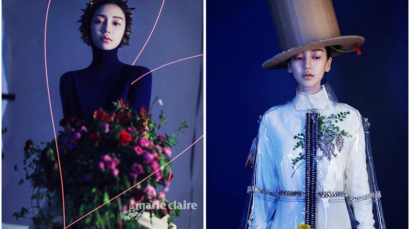 Angelababy попала на обложку модного журнала на сентябрь