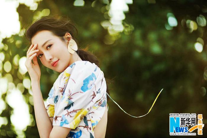 Красотка Ван Оу в последних фото