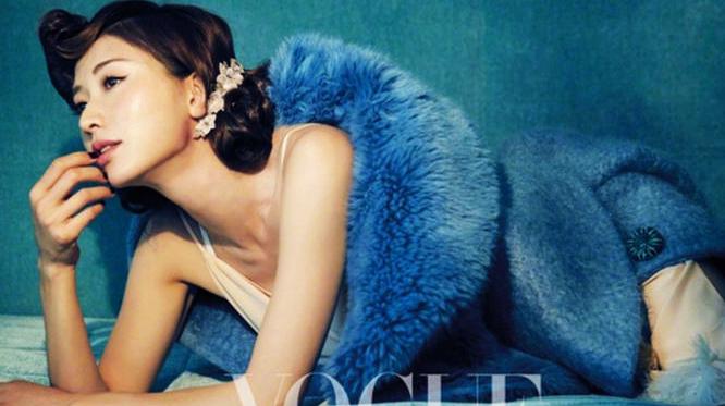 Тайваньская звезда Линь Чжилин попала на обложку «Vogue Taiwan» на август