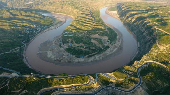 Самая красивая дорога провинции Шэньси
