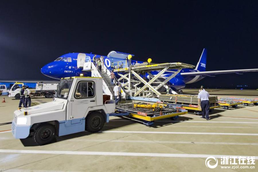 Грузовой авиарейс связал Ханчжоу с российским Новосибирском