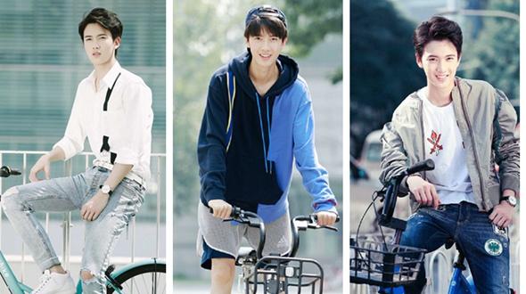Молодой актер Чэнь Ювэй в новой фотосессии