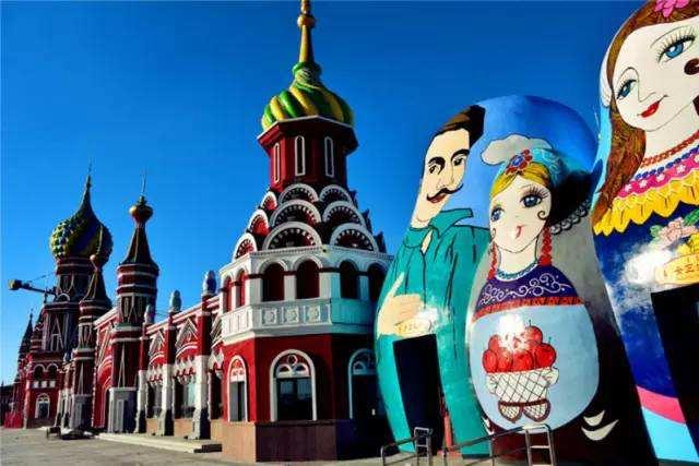 Сказочный мир ?европейского городка? в Китае укрепляет китайско-российскую дружбу