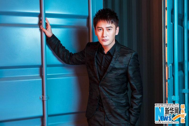 Китайский актер Ван Цзыцюань