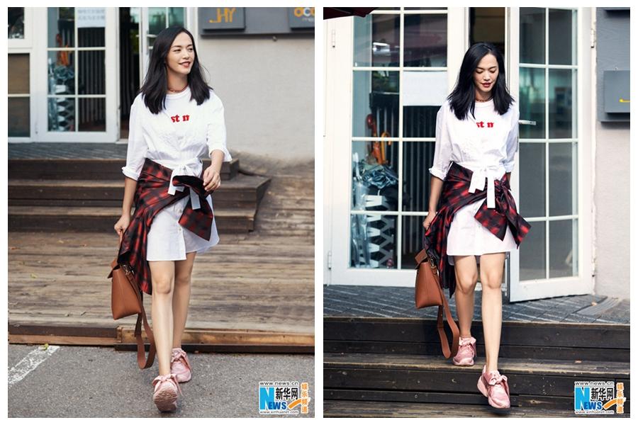 Телезвезда Яо Чэнь создает модный образ