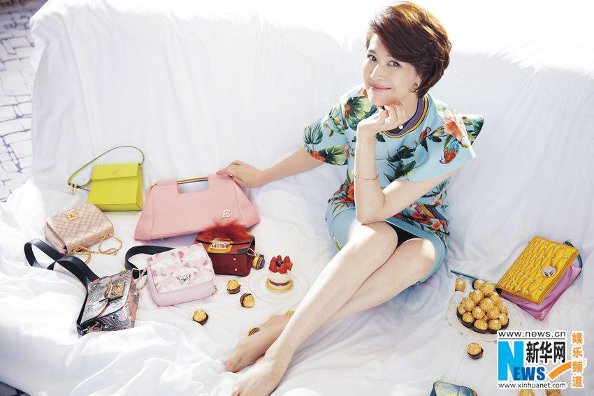 Китайская актриса Тун Лэй создает уникальный стиль