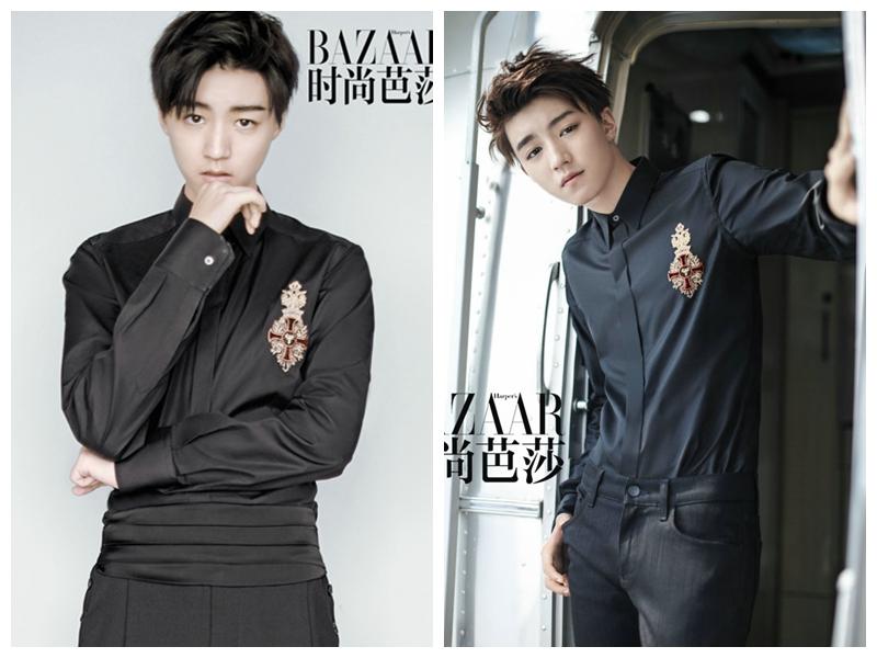 Популярный певец и актер Ван Цзюнькай