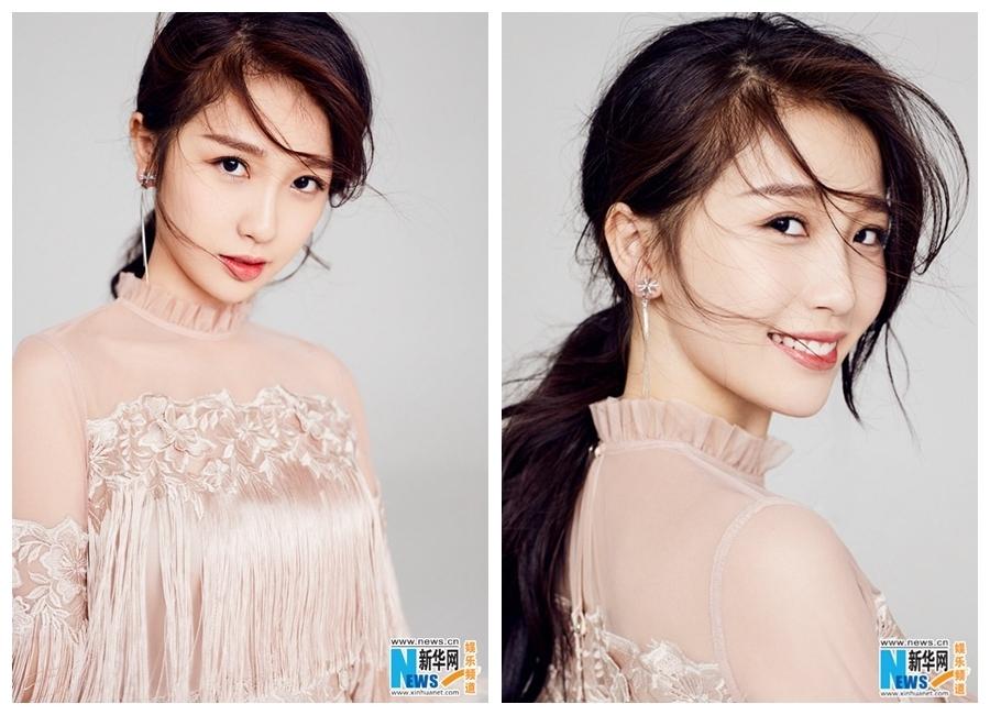 Китайская актриса Юй Шусинь
