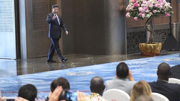 В Сямэне прошла встреча Си Цзиньпина с журналистами по итогам саммита БРИКС