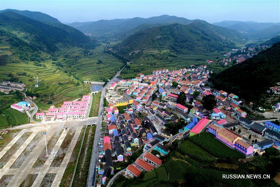 Яркая осень в провинции Шаньси