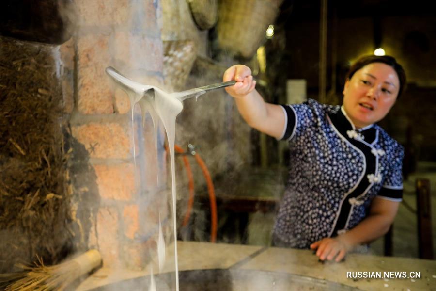 'Прозрачная лапша' из провинции Сычуань