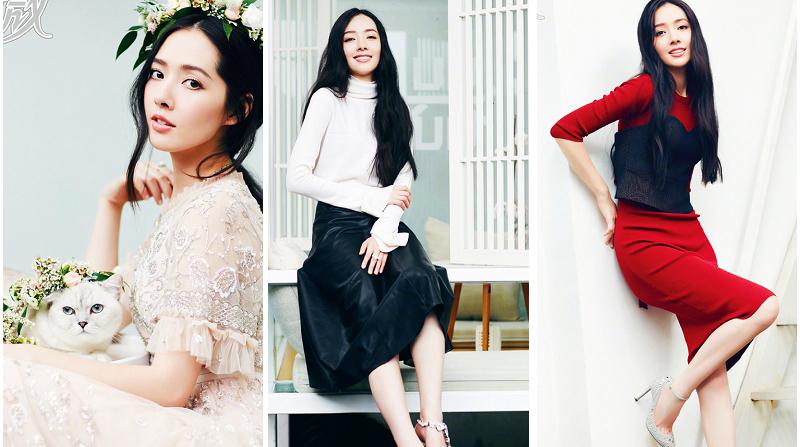 Тайваньская красотка Го Битин на обложке на сентябрь