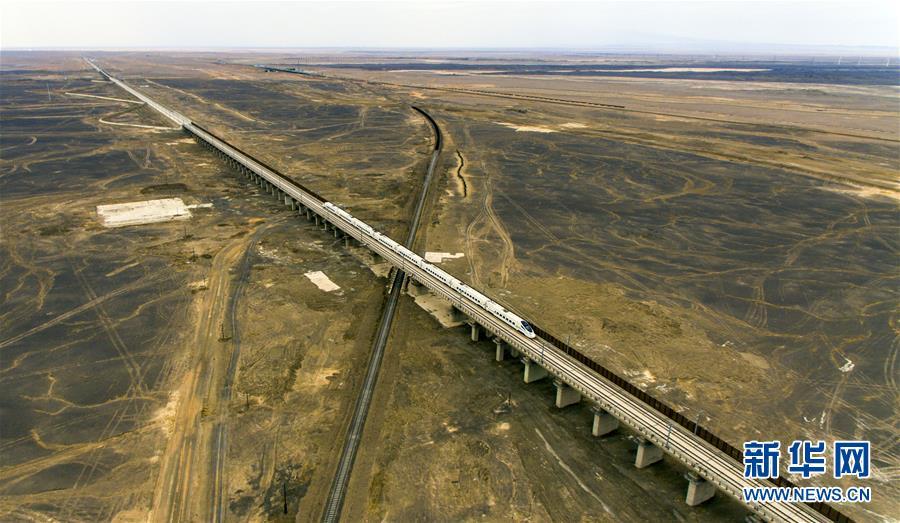 Высокоскоростная железная дорога позволяет передвигаться по суше со скоростью самолета