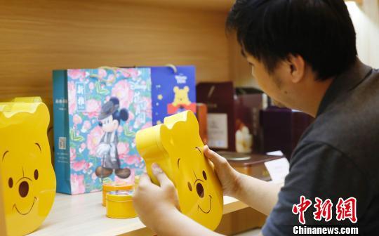 Лунные пряники серии «Дисней» смогут купить в Шанхае