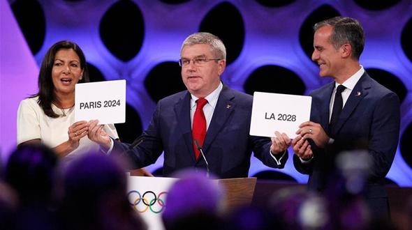МОК подтвердил, что Париж и Лос-Анджелес станут организаторами Олимпийских игр в 2024 и 2028 годах соответственно