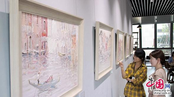 Выставка украинского художника Ивана Пилипенко в Сучжоу