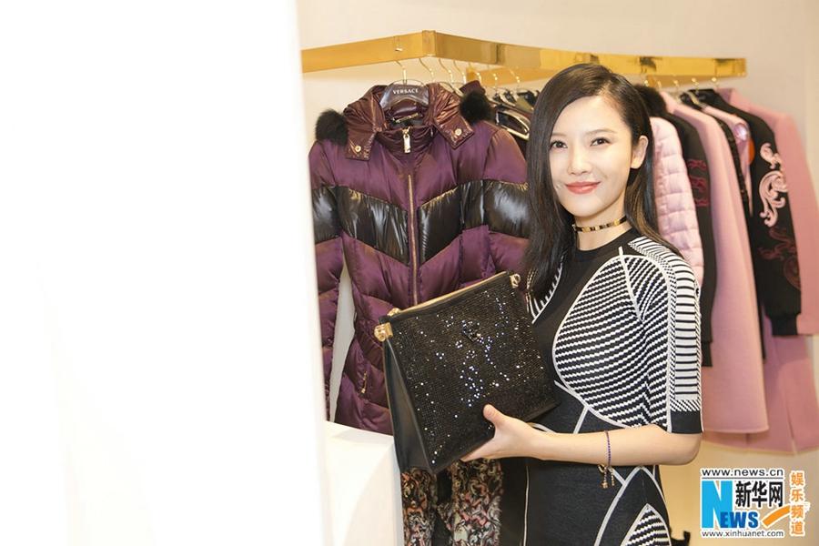 Китайская актриса Ян Цзышань