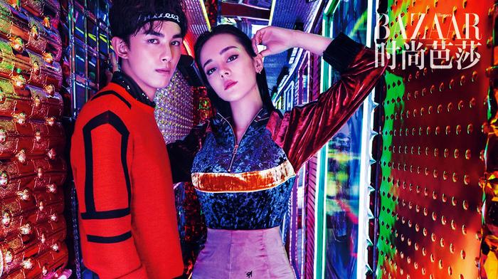 Дили Жэба и У Лэй попали на модный журнал в Токио