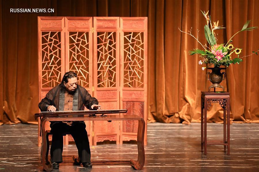 В Ханчжоу открылся 8-й Фестиваль чжэцзянской школы игры на гуцине