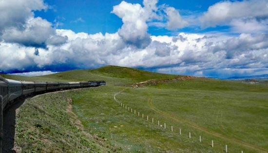 Какие изменения произошли за 57 лет на знаменитом железнодорожном рейсе Пекин-Москва?