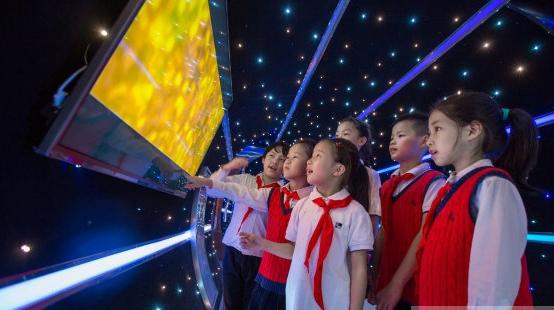 «Космический туннель» в школе г. Ханчжоу