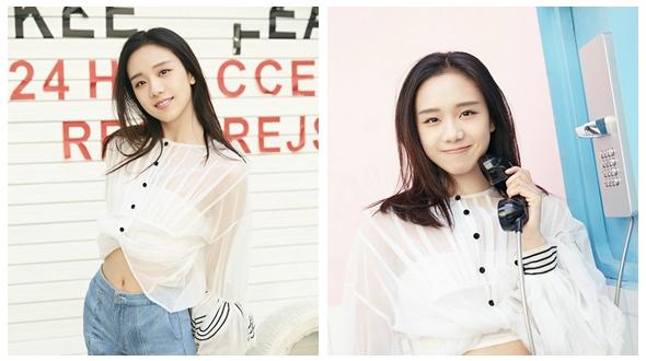 Молодая актриса Цзэн Ци