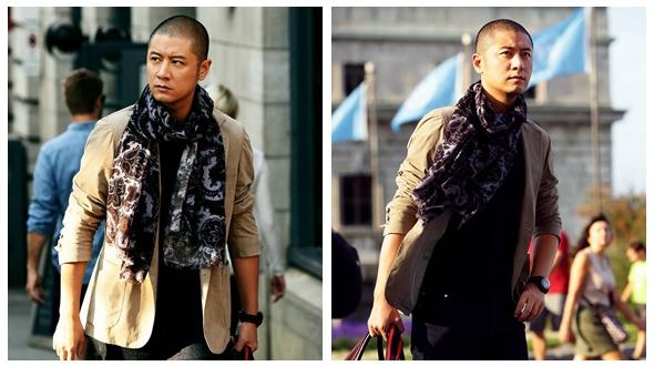 Китайский актер Жэнь Чжун