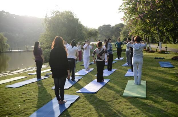В Китае впервые открылась школа изучения йоги