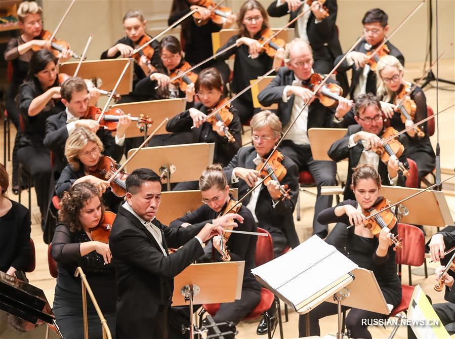 Концерт 'Китайская история -- Песни земли' в Берлине