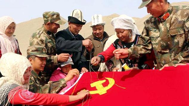[Радостно встречаем 19 съезд КПК] новая жизнь у подножия гор Тяньшань