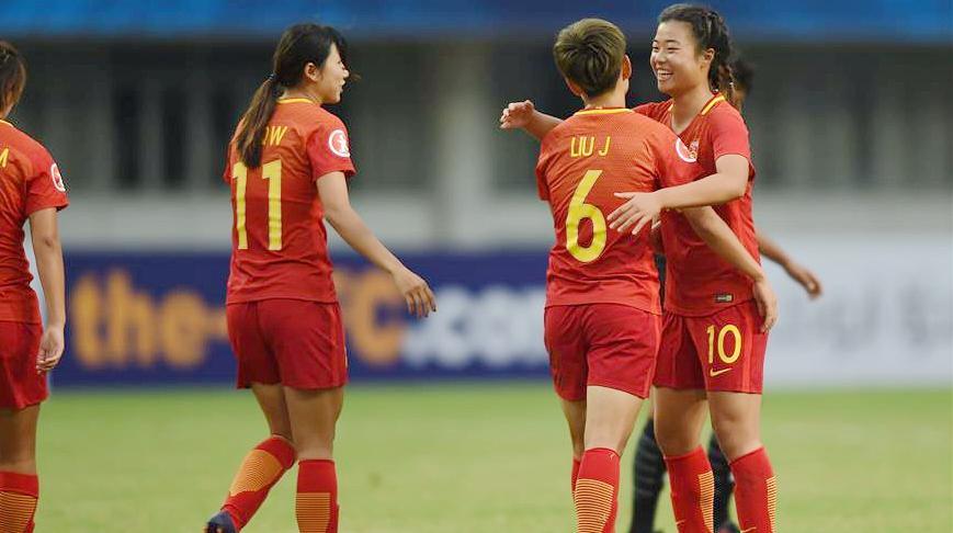 Футбол -- Чемпионат Азии среди девушек до 19 лет -- 2017: сборная Китая победила сборную Таиланда