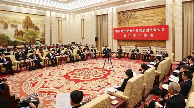 Делегации-участницы 19-го съезда КПК провели дискуссии в присутствии китайских и иностранных журналистов